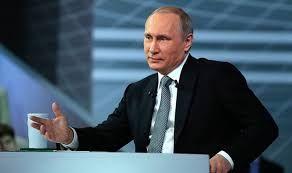 Путин заговорил в Крыму на украинском