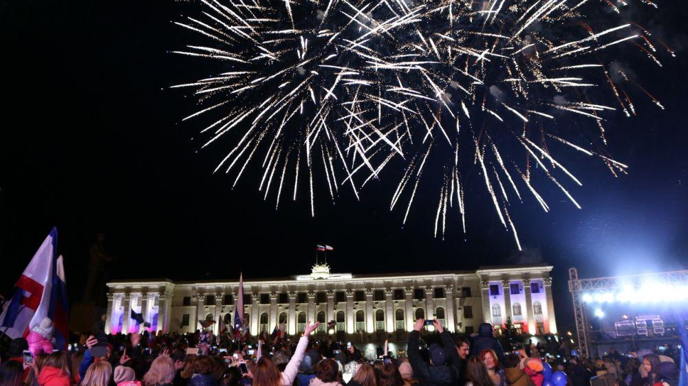 Министерство культуры Крыма выступило основным организатором концерта, посвященного пятой годовщине воссоединения Крыма с Россией
