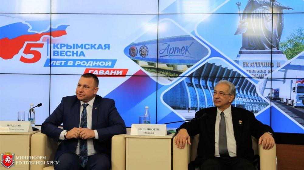Сергей Зырянов: Благодаря тому, что иностранные граждане приезжают в Крым и рассказывают за рубежом о жизни на полуострове, преодолевается информационная блокада