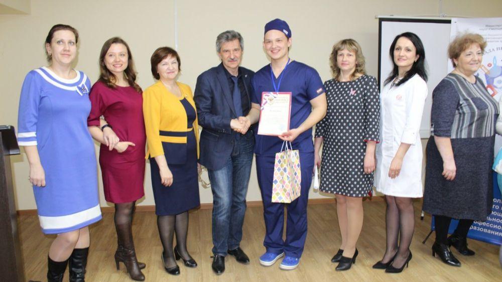 В Крымском медицинском колледже определили победителя регионального этапа Всероссийской олимпиады
