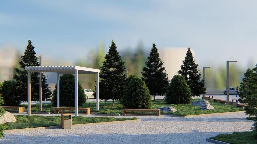 Продолжается разработка концепции реконструкции площади Революции в Саках