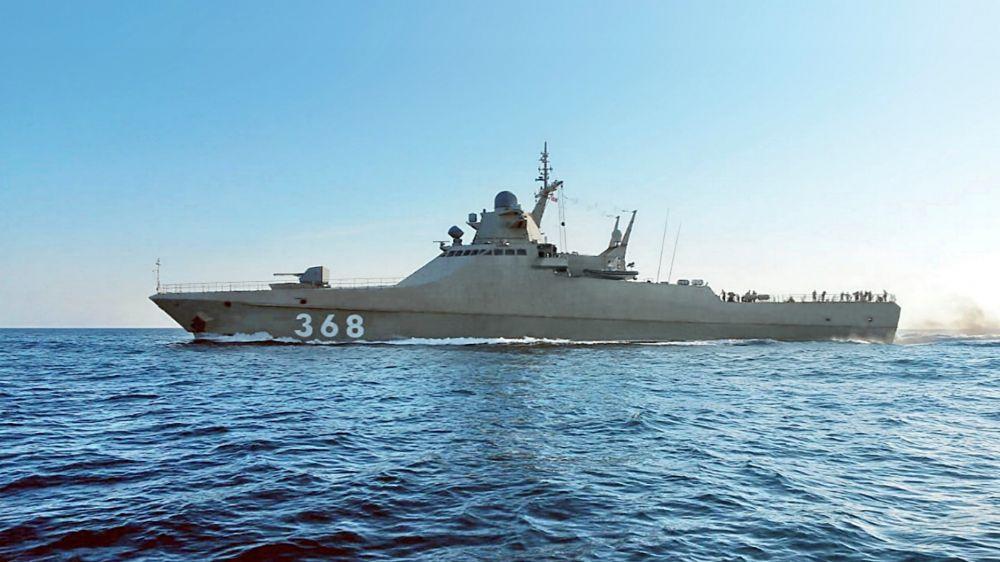 Экипажи кораблей Новороссийской военной морской базы провели учение по противовоздушной обороне