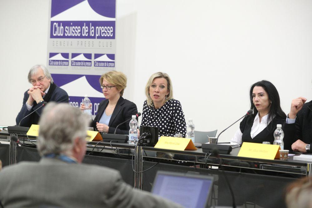Мария Захарова европейским политикам: Не надо верить фейкам о Крыме, сначала побывайте там сами