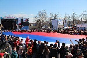 Росгвардия обеспечила правопорядок на мероприятиях, посвященных пятой годовщине воссоединения Крыма с Россией