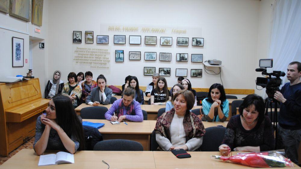 В Симферополе состоялось мероприятие, посвященное 125-летию со дня рождения композитора Ягъя Шерфединова