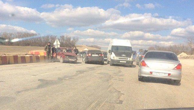 ДТП на трассе Симферополь-Севастополь: пробки растянулись на километры