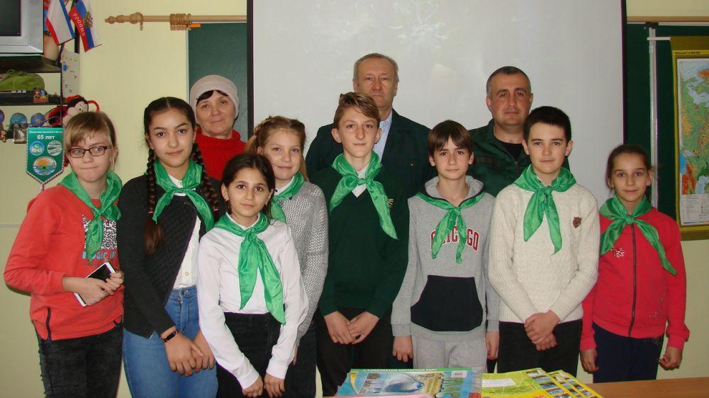 Сотрудники Минприроды Крыма провели урок экологических знаний в рамках Международного дня лесов