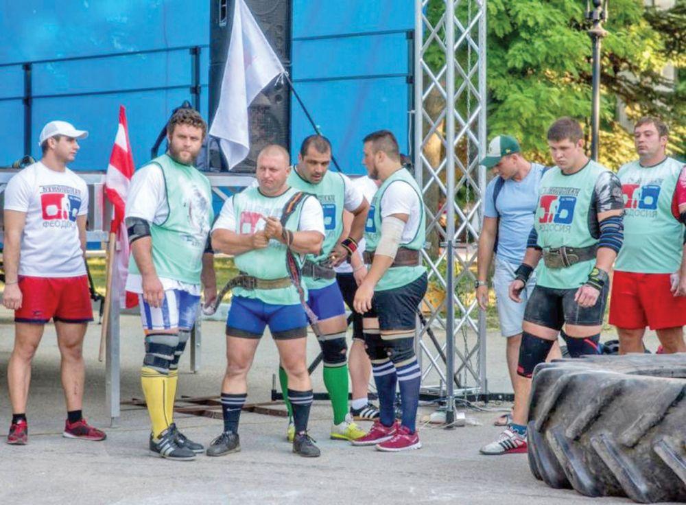 В Феодосии состоялся пятый Всероссийский турнир по силовому экстриму «Кубок Поддубного»