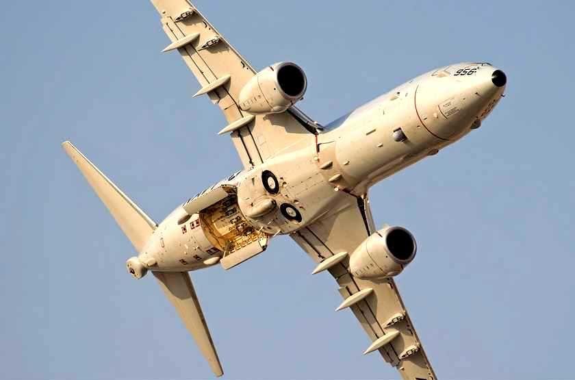 Американские военные самолеты провели разведку у берегов Крымского полуострова