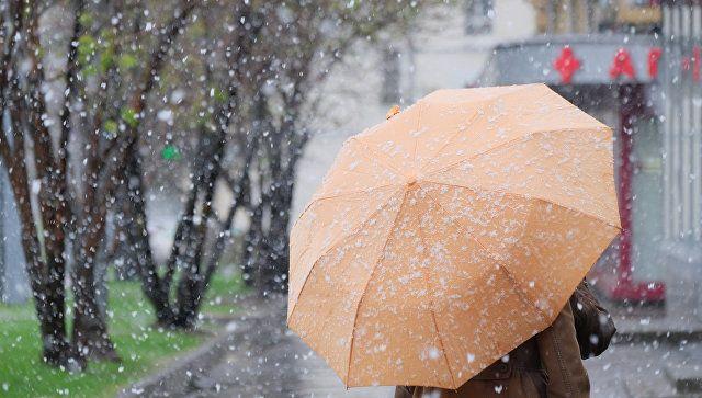 """""""Ныряющий"""" циклон: надолго ли Крым окажется во власти ливней и снега"""