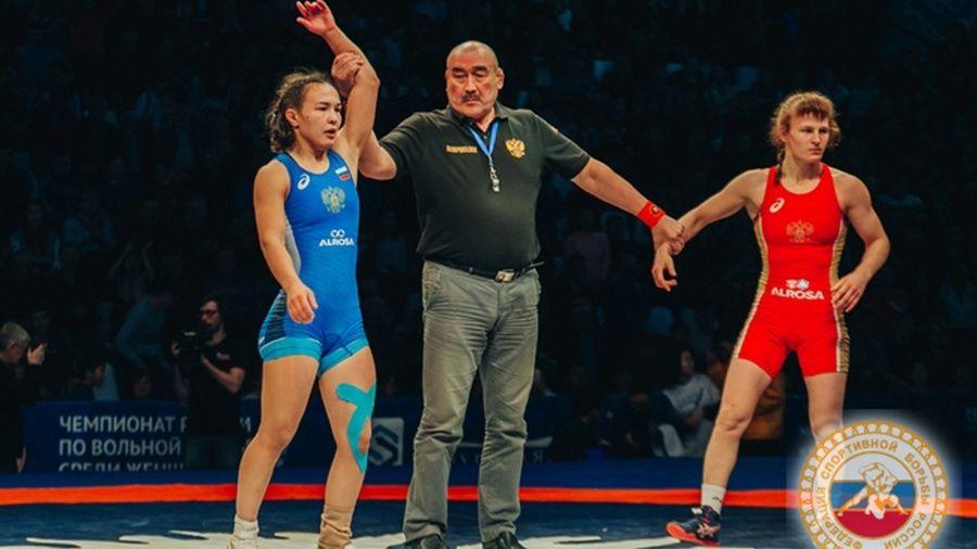 Все победители и призеры чемпионата России по женской борьбе
