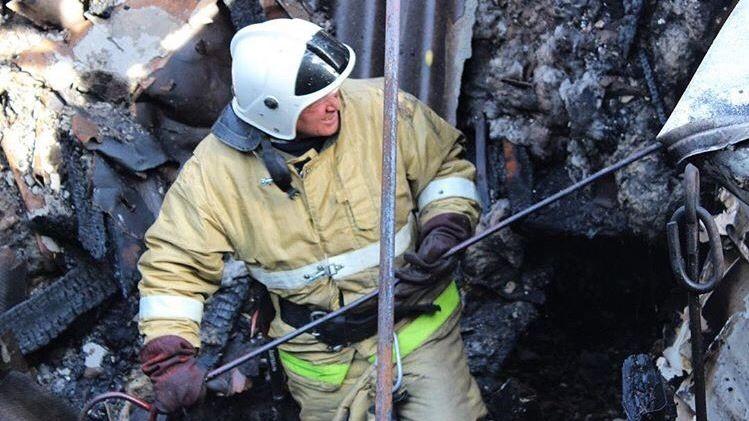 Огнеборцы ГКУ РК «Пожарная охрана Республики Крым» продолжают вести ежедневную борьбу с пожарами