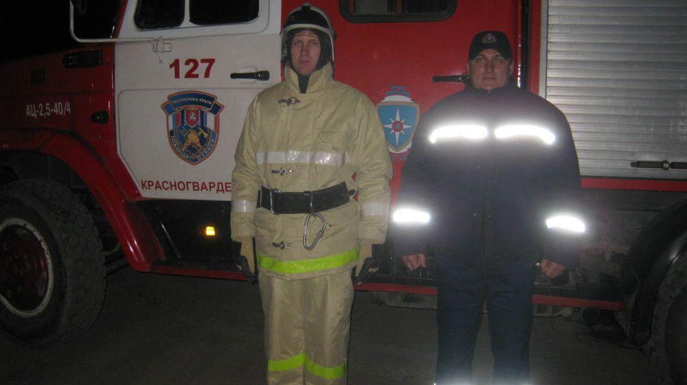Огнеборцы ГКУ РК «Пожарная охрана Республики Крым» в ночное время ликвидировали условный пожар в Доме культуры