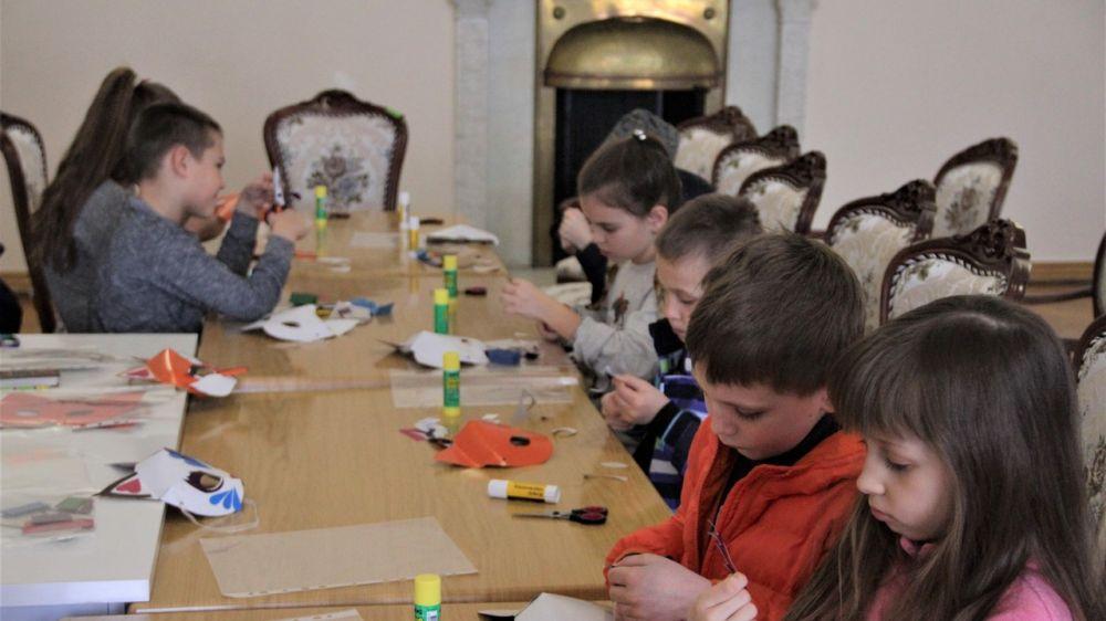 Мастер-класс «Театральная сказка» проведен для детей в Ливадийском дворце