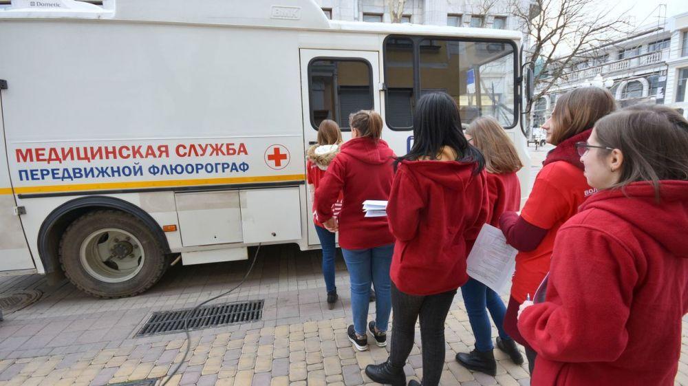 В Крыму проходит месячник по борьбе с туберкулезом