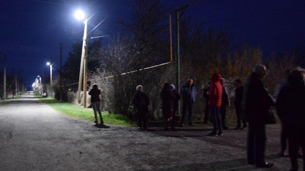 На улицах Щербаково стало светлее