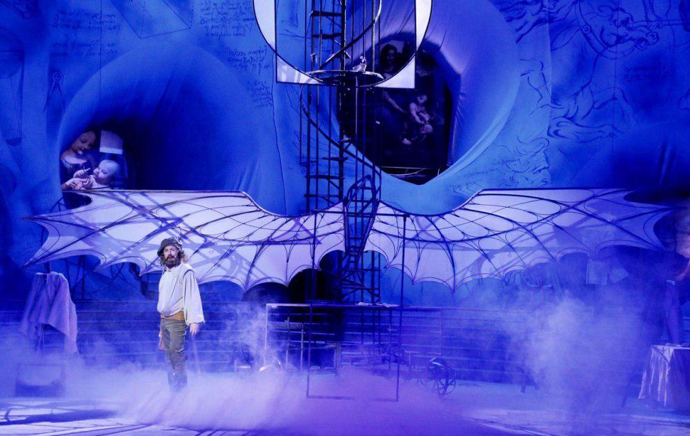 «Леонардо» и его полёты на сцене крымского музыкального театра