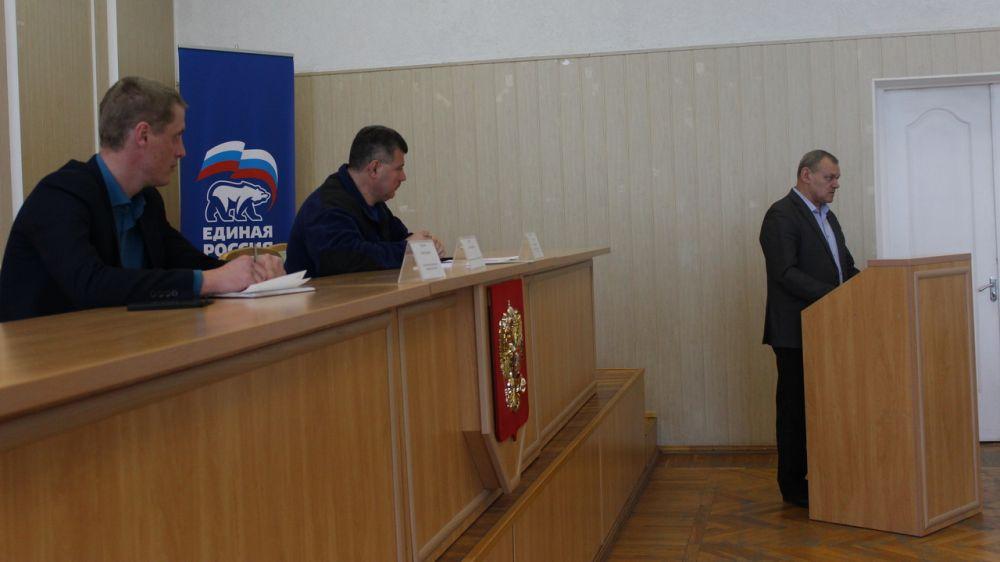 В Администрации Симферопольского района обсудили состояние систем обеспечения безопасности жизнедеятельности населения в муниципальном образовании Симферопольский район