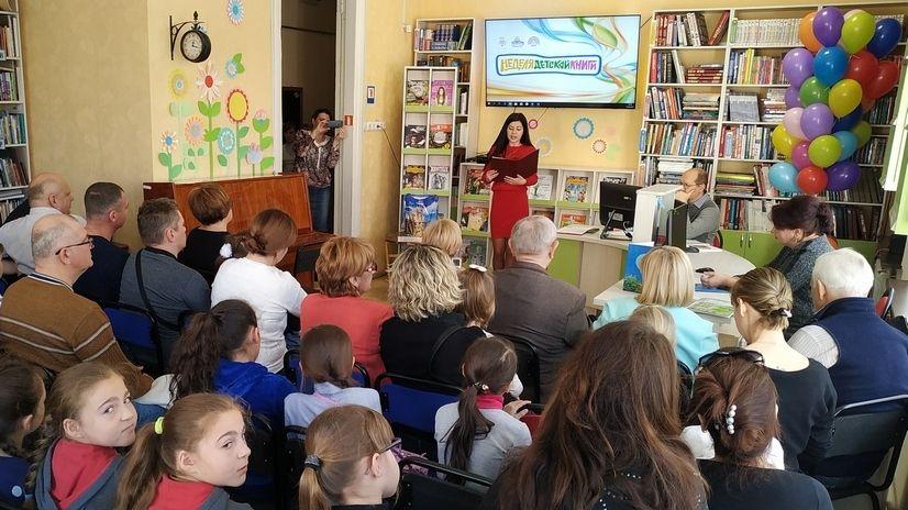 Республиканская неделя детской и юношеской книги открылась в Детской библиотеке им. В.Н.Орлова