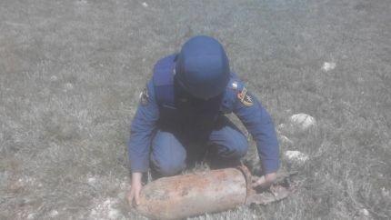 В Крыму ликвидировали авиабомбу весом 500 кг