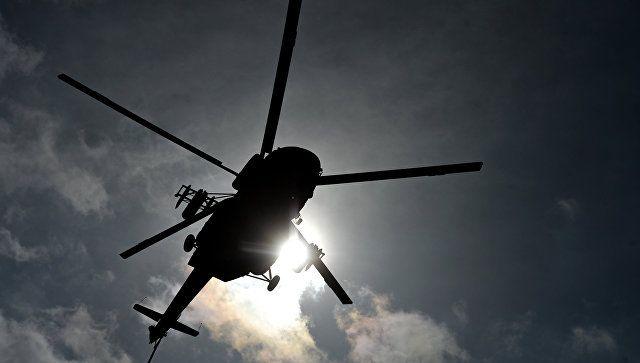 В Казахстане упал и сгорел дотла вертолет Минобороны страны