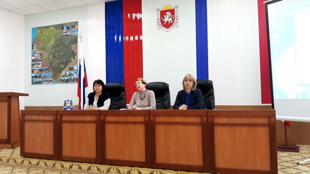 Сотрудниками Коскомархива проведен семинар в Бахчисарайском районе Республики Крым