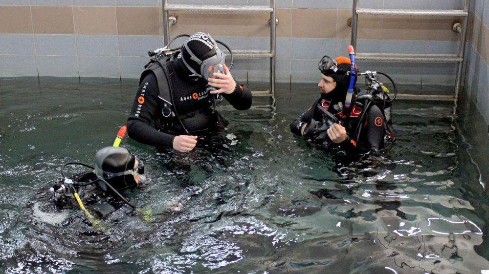 Сергей Шахов: Более 30 специалистов «КРЫМ-СПАС» и «РОССОЮЗСПАС» успешно завершили обучение на базе водолазного центра