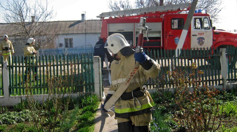 Сергей Шахов: Отработка ликвидации пожаров на социально значимых объектах является одним из приоритетных направлений работы огнеборцев ГКУ РК «Пожарная охрана Республики Крым»