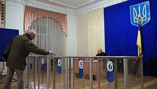 Выборы на Украине: активнее всего голосует центр страны, запад – в аутсайдерах