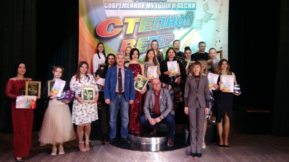 XXI Республиканский фестиваль современной музыки и песни «Степной ветер» прошел в Крыму