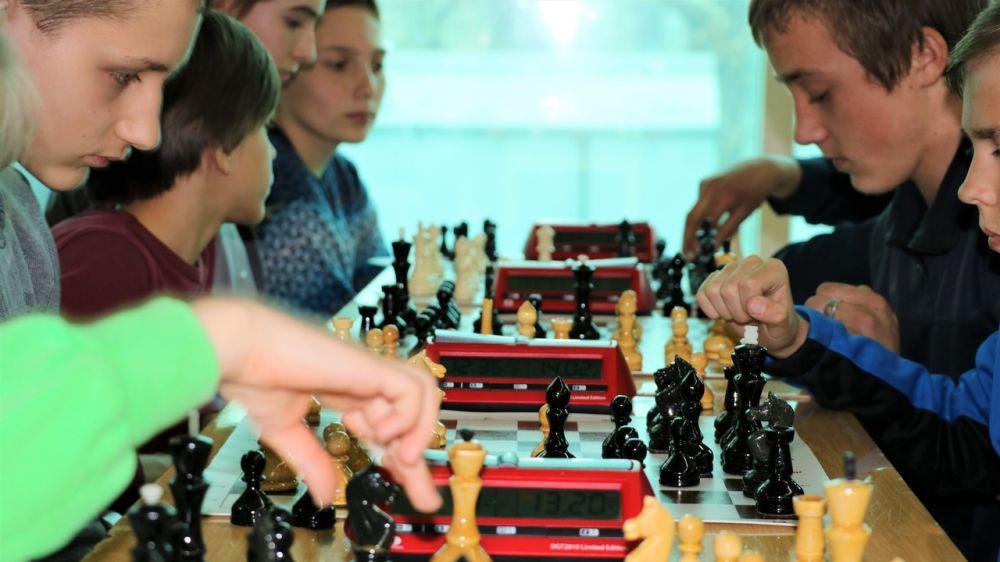 В Симферополе прошел республиканский этап соревнований по шахматам «Белая ладья»