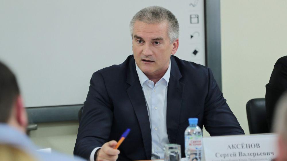 Сергей Аксёнов провёл совещание по проблемным вопросам работы службы скорой медицинской помощи Республики Крым