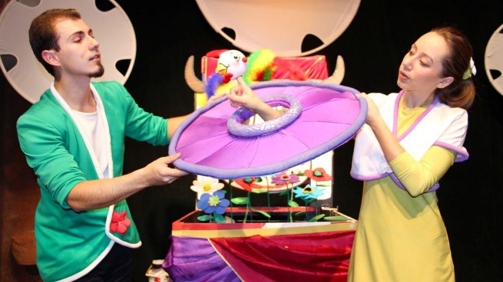 Крымский академический театр кукол покажет спектакль в Джанкое