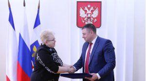 Представители Симферополя и тамбовского Мичуринска обсудили возможность заключения соглашения о сотрудничестве