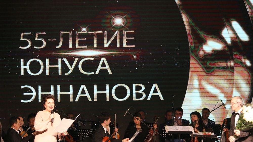 Арина Новосельская посетила юбилейный концерт главного дирижера Крымскотатарского государственного академического музыкально-драматического театра