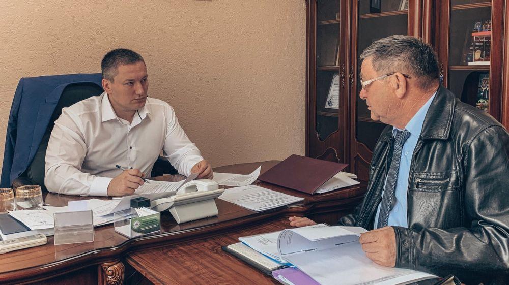 Вадим Белик провел личный прием граждан
