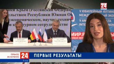 Соглашения о сотрудничестве и строительство новой вышки в аэропорту Симферополя. Прямое включение с Главой Крыма Сергеем Аксёновым