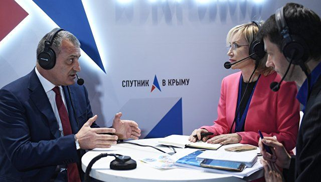 Бибилов рассказал, в чем сила Крыма и Южной Осетии