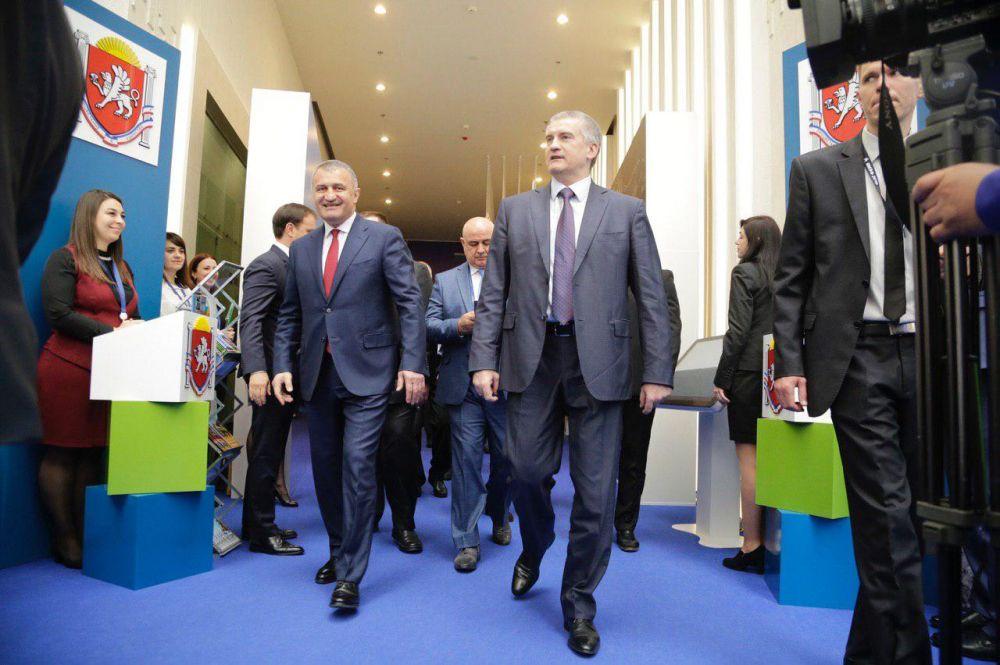 Динамика экономических отношений между Крымом и Южной Осетией значительно возросла, - Анатолий Бибилов