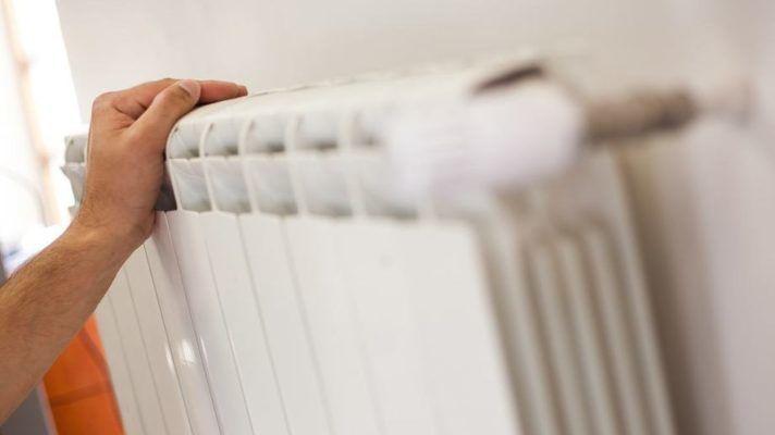 В районе включат отопление на период похолодания