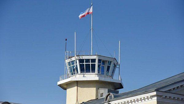 В аэропорту Симферополя построят диспетчерскую вышку за 882 млн рублей
