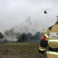 Условный лесной пожар в Симферопольском районе успешно ликвидирован