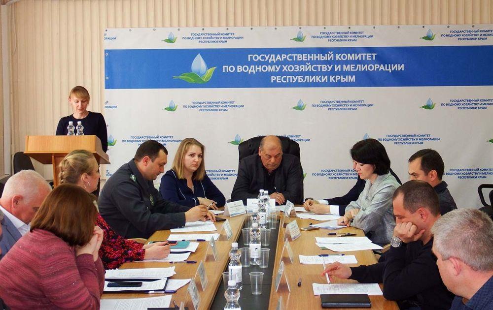 Игорь Вайль провел четвертое заседание Бассейнового совета Крымского бассейнового округа