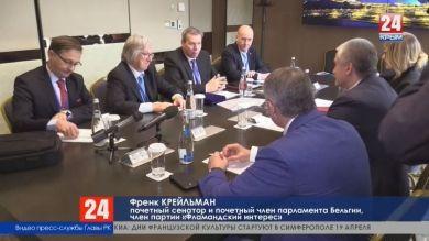 Перспективы международного сотрудничества: Глава Республики Сергей Аксёнов встретился с иностранными делегациями на ЯМЭФ