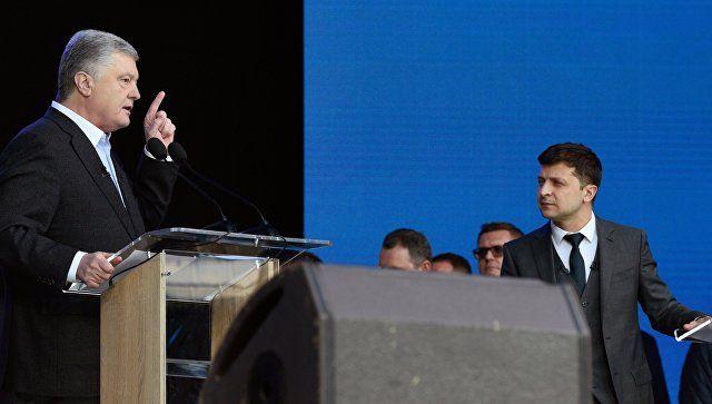 Между демагогией и фарсом: сенатор о дебатах Порошенко и Зеленского