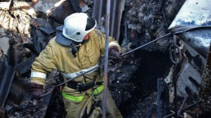 В Бахчисарае в это воскресенье горел частный дом
