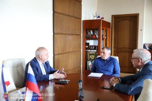 Владимир Константинов встретился с депутатом Бундестага от партии «Альтернатива для Германии» Вальдемаром Гердтом