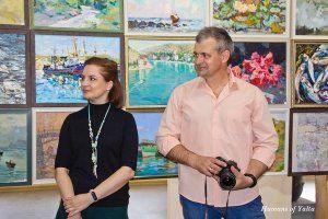 Во Всероссийской выставке «Объединяя пространство» в Никитском саду принимает участие 51 художник