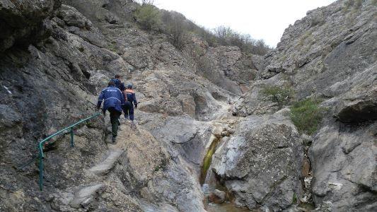 Гости из Новосибирска и Челябинска заблудились этой ночью в крымских горах