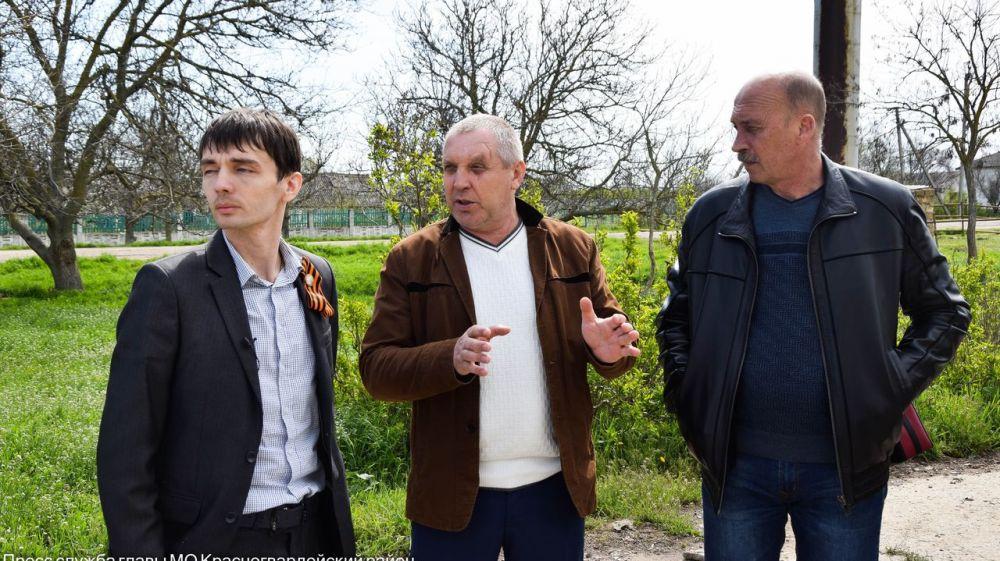 В трех селах Ленинского поселения проведены встречи с жителями